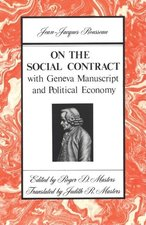 ON THE SOCIAL CONTRACT tr. Masters