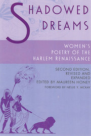 SHADOWED DREAMS: Women's Poetry of Harlem Renaissance