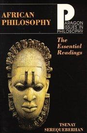 AFRICAN PHILOSOPH