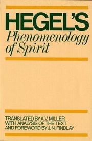 PHENOMENOLOGY OF SPIRIT TR. MILLER