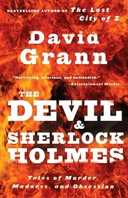 DEVIL AND SHERLOCK HOMES: Tales of Murder, Madness, and Obsession