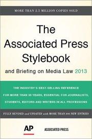 ASSOCIATED PRESS STYLEBOOK 2013