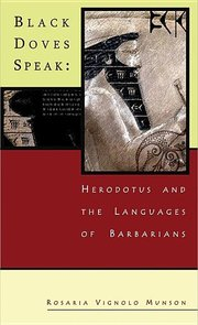 BLACK DOVES SPEAK: Herodotus and the Lanuages of the Barbarians