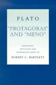 PROTAGORAS and MENO TR BARTLETT