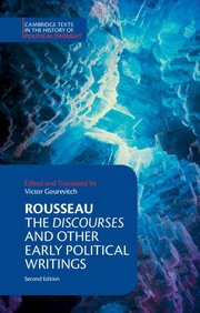 DISCOURSES and Other Early Political Writings