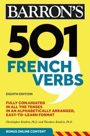 501 FRENCH VERBS 7TH ED. WITH CD-ROM