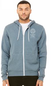 Zip Hoodie with Pocket Logo